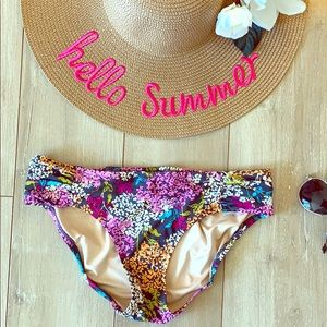 Lands' End floral bikini